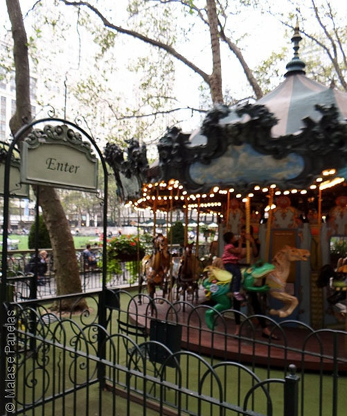 Carrossel Bryant Park NY
