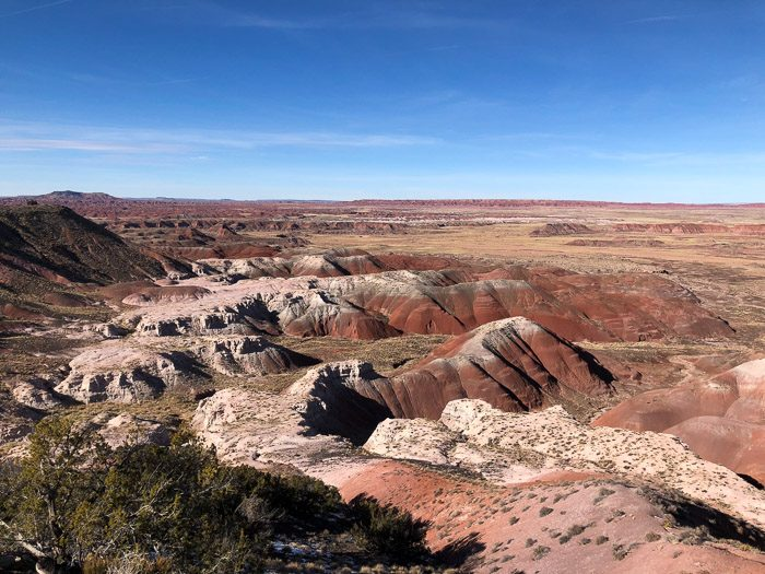 The Painted Desert - Petrified Forest National Park