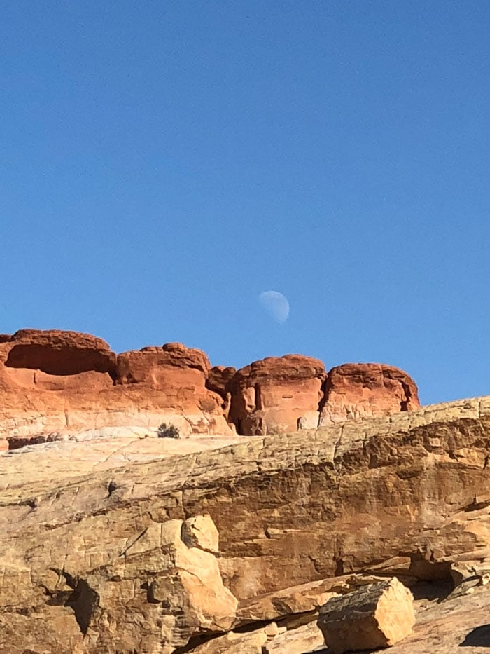 Lua no Valley of Fire