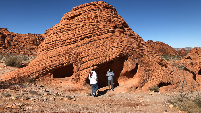 Beehives no Valley of Fire