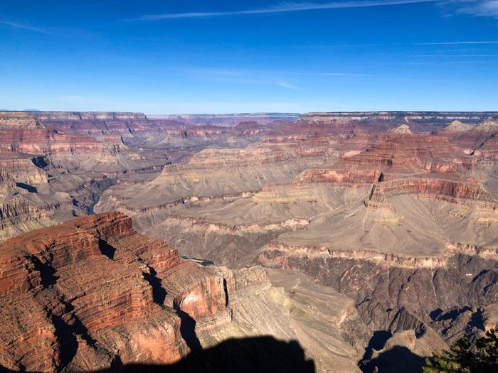 Hermit' Road Grand Canyon