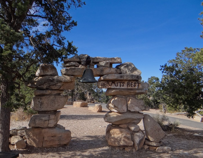 Hermit's Rest Grand Canyon (1)