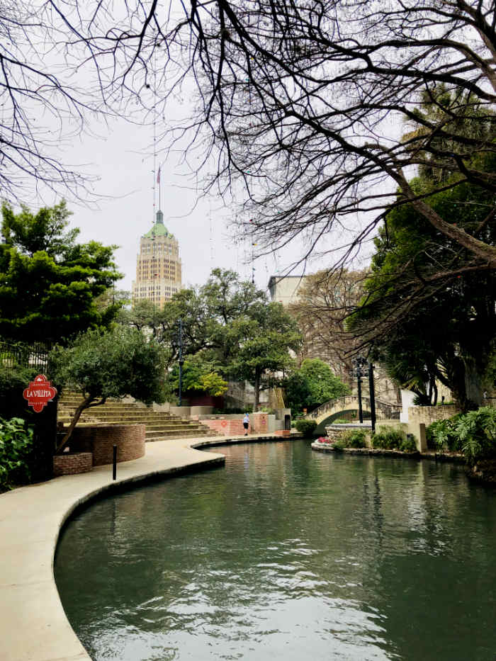 Riverwalk em San Antonio, no Texas