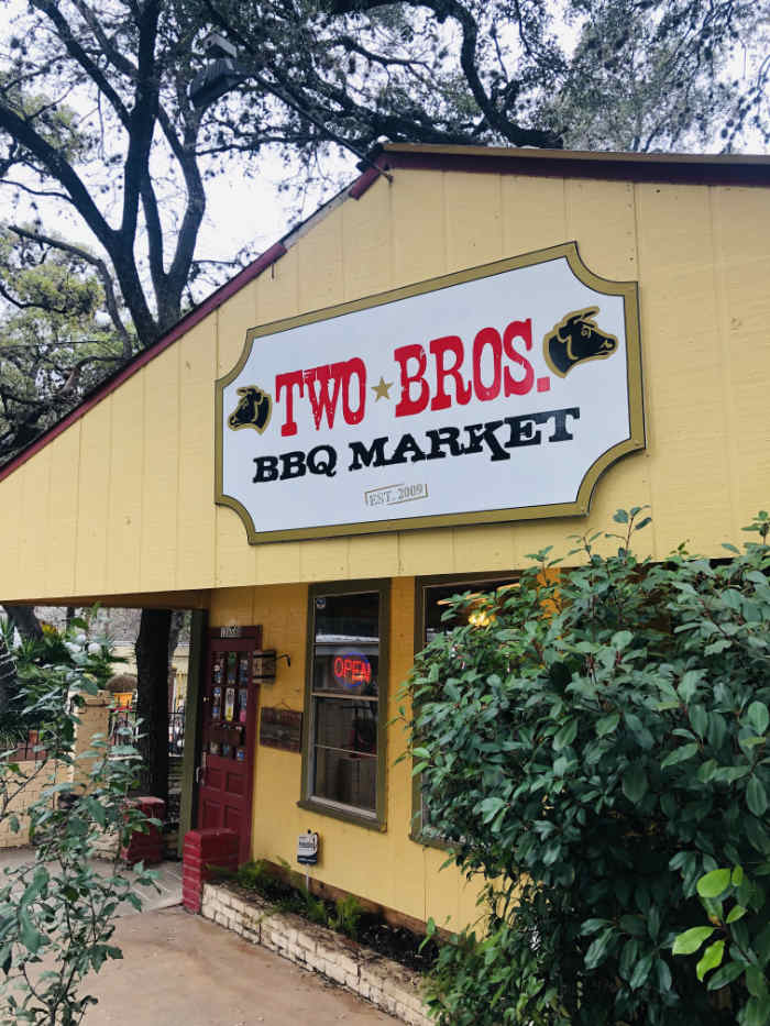 Two Bros. BBQ - San Antonio, Texas
