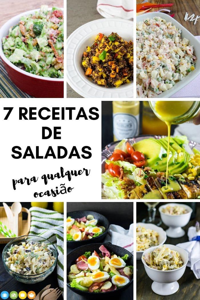 7 receitas de saladas para qualquer ocasião | Malas e Panelas