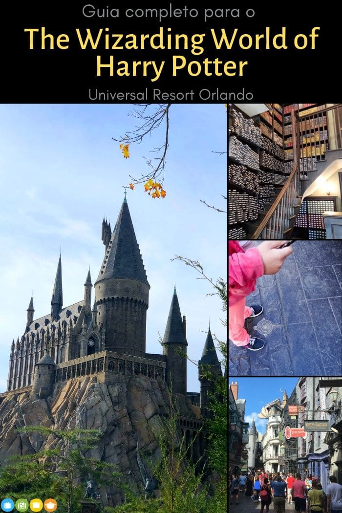 Guia Harry Potter Universal Orlando Resort